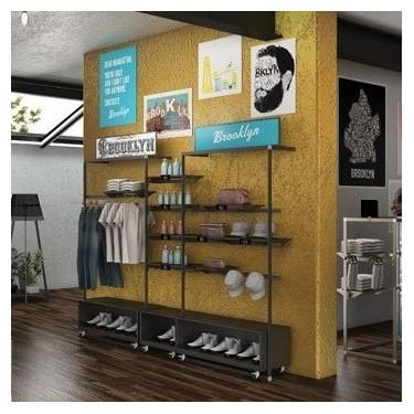 L 55 Meuble mural Droit L. 65cm, agencement de magasin montpellier, equipement professionnel pour commerce paris, meuble profess
