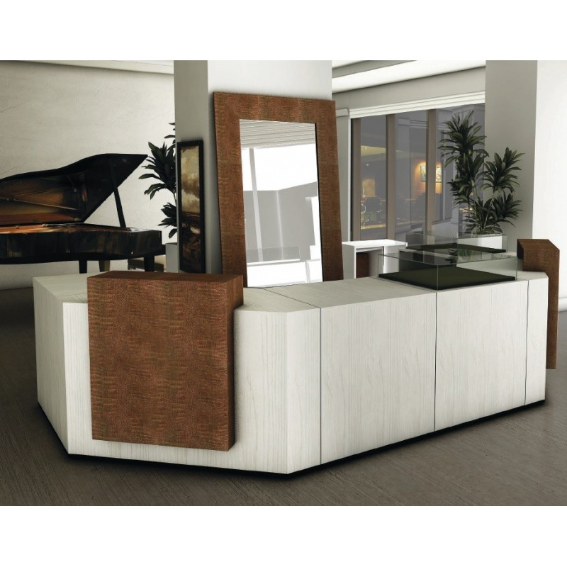 comptoir de caisse et d 39 acueil modulable personnalisable. Black Bedroom Furniture Sets. Home Design Ideas