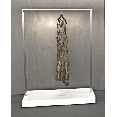 Portant L6 bois et acier H.160 & 180 cm