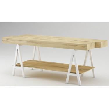 Table d'exposition ARCHI, table de présentation marchande pour agencement de magasin montpellier design, mobilier pour équipemen