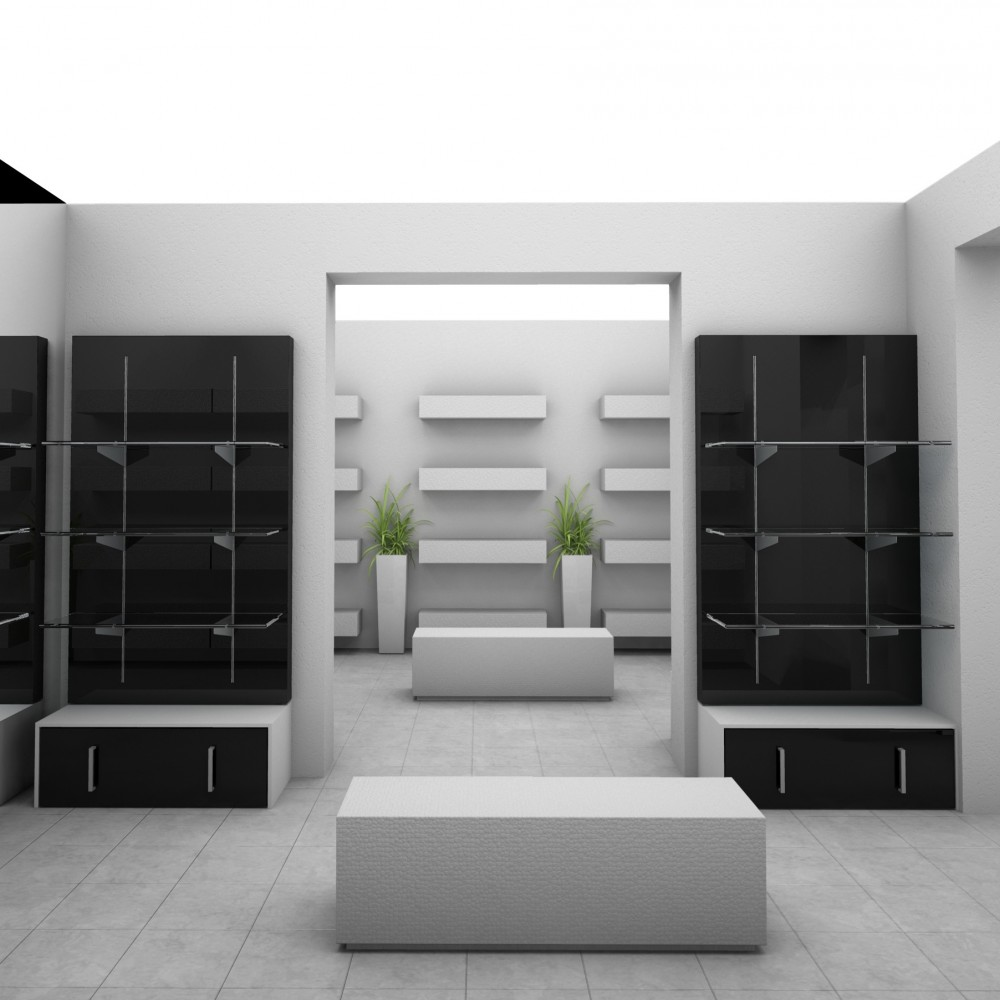 panneau mur avec cr maill re grande hauteur pour agencement de magasin. Black Bedroom Furniture Sets. Home Design Ideas