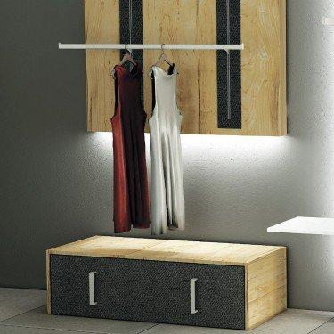 Meuble Tiroir L.120, meuble de stockage et d'exposition pour agencement de magasin montpellier, paris, cannes