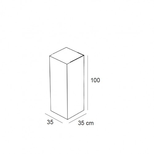 Podium 100 cm LINEA 6 agencement de magasin, decoration vitrine, equipement de commerce