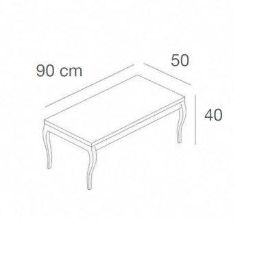 Table Gigogne L.100 x P.50, table pour agencement de magasin, table de pliage magasin, table de presentation magasin montpellier