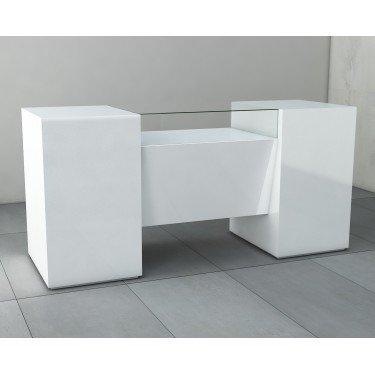 Comptoir caisse, comptoir d'accueil , comptoir de magasin Comete pour agencement et equipement de magasin Paris