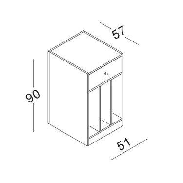 Module 1 pour Comptoir Retail Design