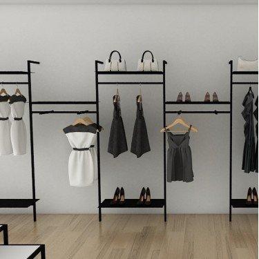 Portant Facing agencement magasin Retail Design. Créez votre facing magasin, optimisez vos linéaires