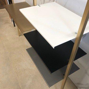Etagère Métal agencement Retail Design L.57 & 87 cm
