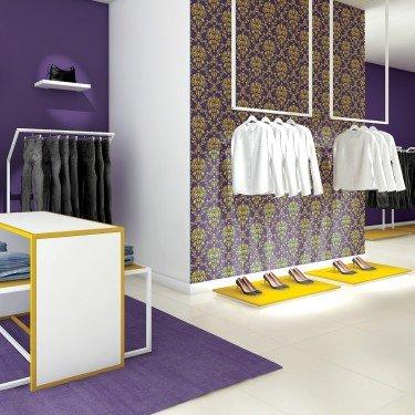 Portant suspendu Retail Design 1