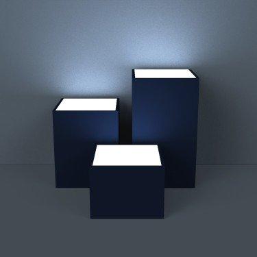 Podium de présentation POP UP - Podium magasin, podium vitrine, laissez vous inpirer par votre agencement de magasin ou stand