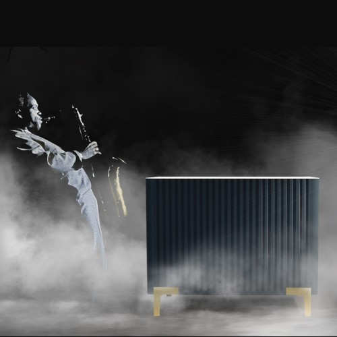 Meuble de caisse FUSION, comptoir magasin bois et métal, comptoir de caisse design pour aménagement de magasin