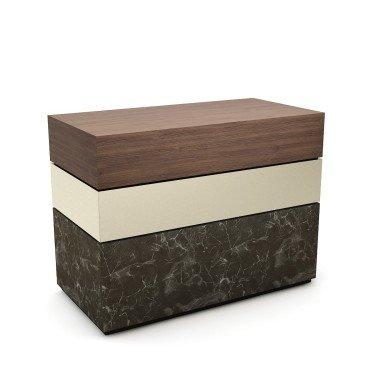 Comptoir METEORE 1 - Comptoir pro et comptoir caisse design à personnaliser. Optimisez votre l'intérieur de magasin et valorisez