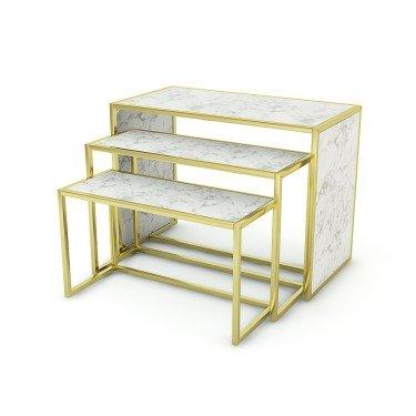 Table d'exposition pour agencement de magasin Retail Design