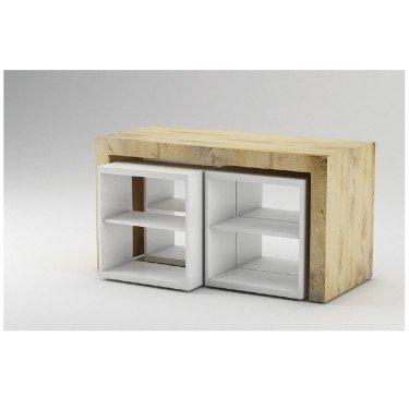 Table de présentation professionnelle Concept 160. Agencement de magasin personnalisable