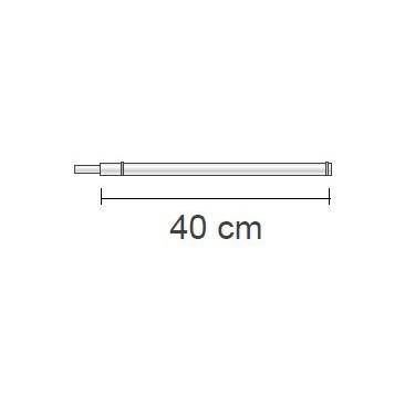 Barre droite 40 cm L2