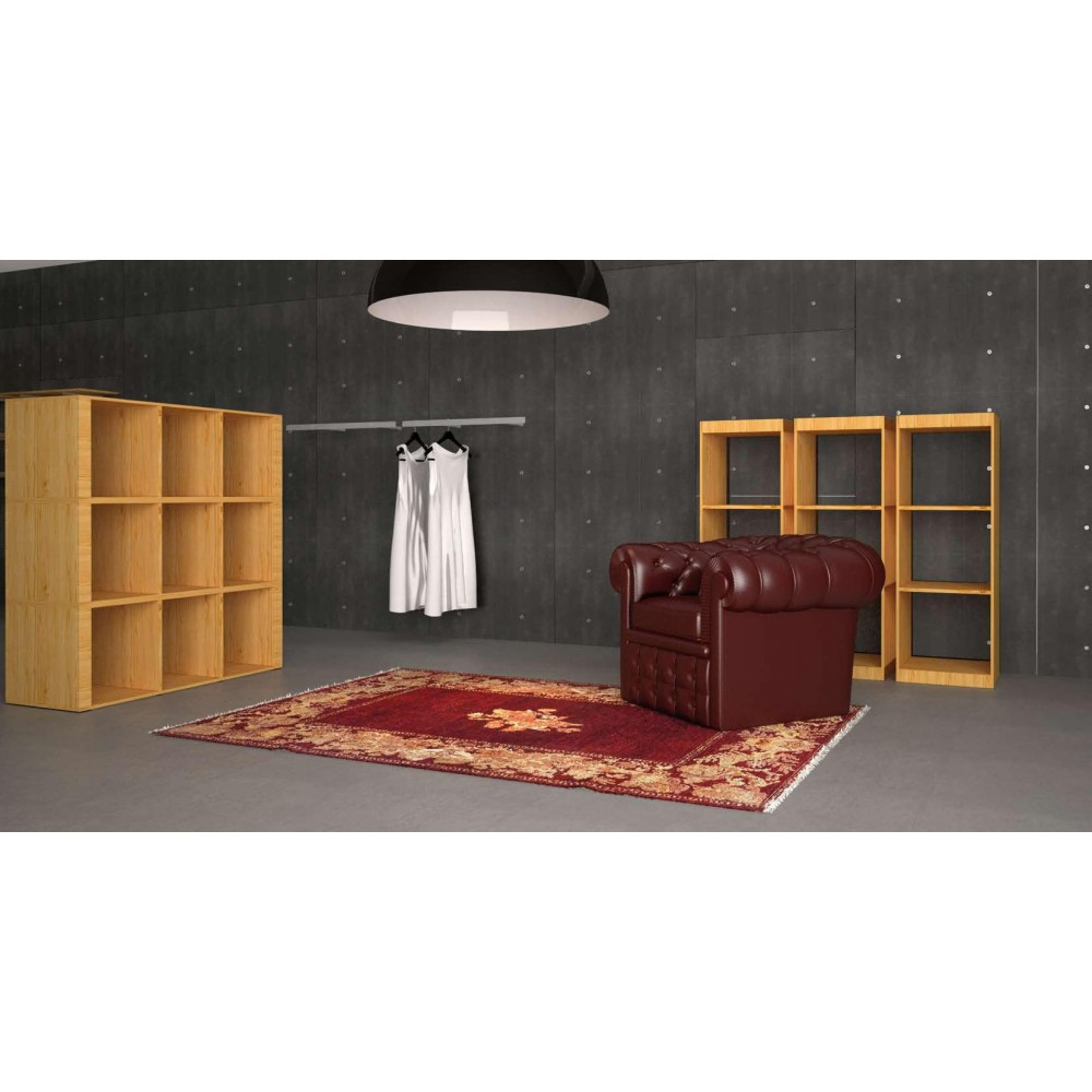 mobilier de rangement pour agencement magasin sur 3 niveaux l 2. Black Bedroom Furniture Sets. Home Design Ideas