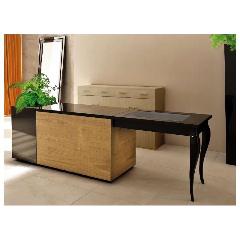comptoir de caisse table d 39 accueil pour agencement haut de gamme. Black Bedroom Furniture Sets. Home Design Ideas