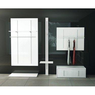 Couple support étagère bois L.30, agencement de magasin montpellier, paris, mobilier professionnel pour équipement de magasin de