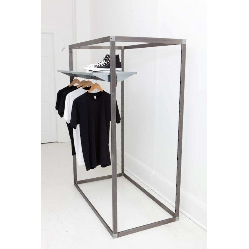 Portant VERTICAL H.155 cm, portant professionnel pour agencement de magasin montpellier, paris, marseille, aix en provence, nim