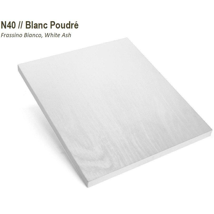 Blanc Poudré texturé N40