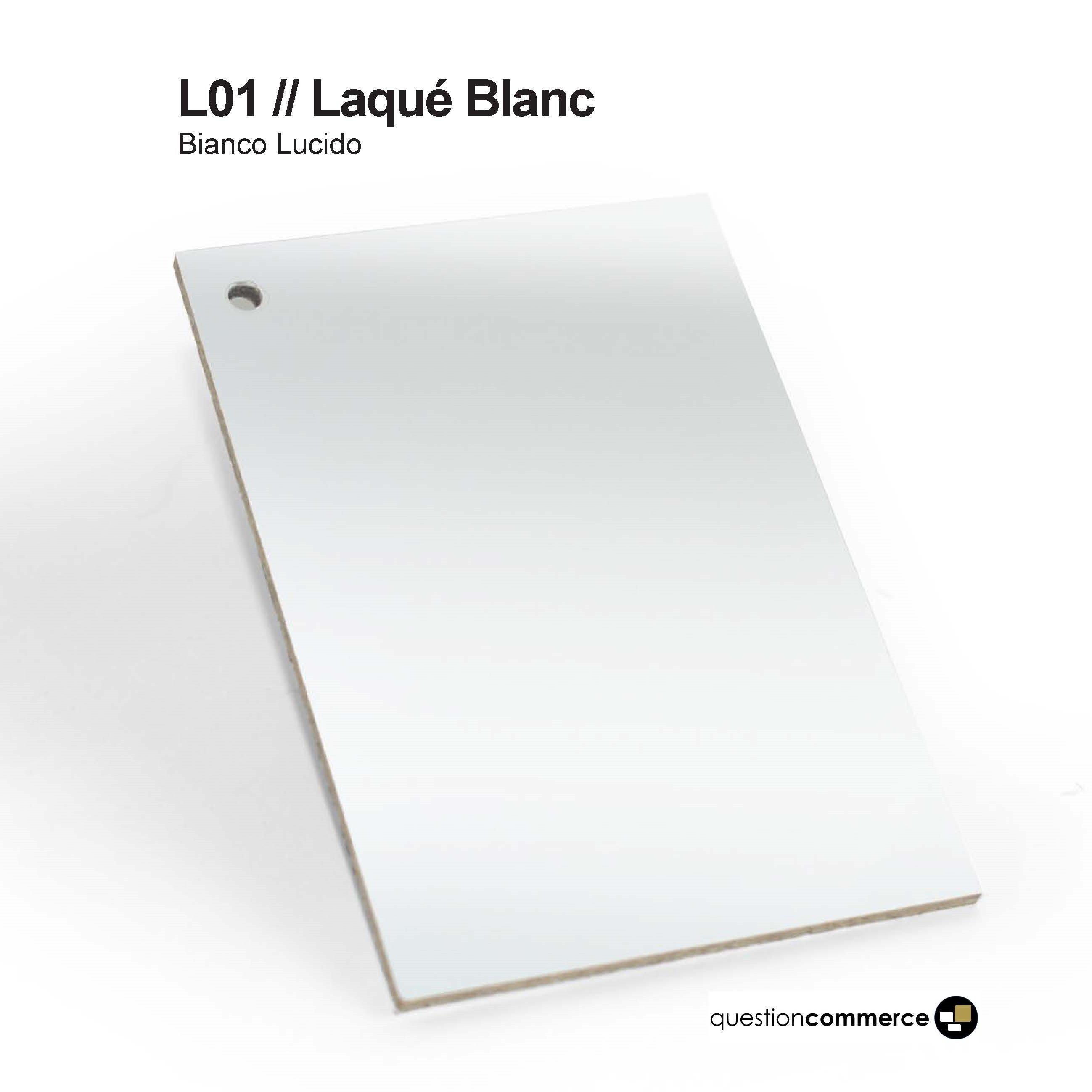 Laqué Blanc L 01