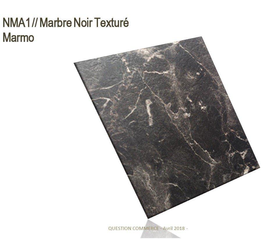 Marbre Noir Texturé NMA1